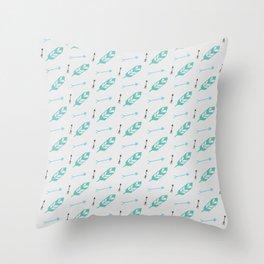 Z-Arrowz Throw Pillow
