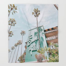 beverly hills / los angeles, california Throw Blanket