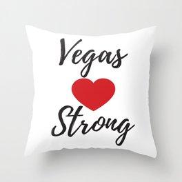 Vegas Strong Shirt,#Vegasstrong Shirt,Las Vegas Tee,Nevada Tshirt,Silver State,Vegas T Shirts Throw Pillow