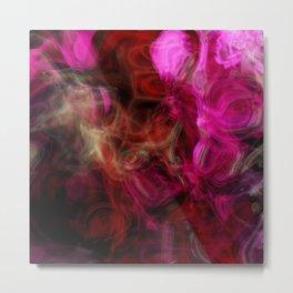 Pink Smoke Metal Print