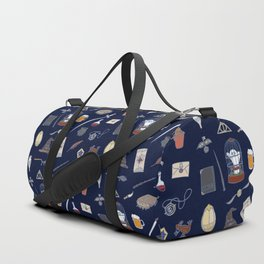 Harry Pattern Night Duffle Bag