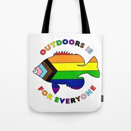 Diversity and Inclusion Fish Tote Bag