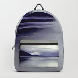 River View in Purple Backpack