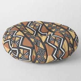 African mud cloth Mali Floor Pillow