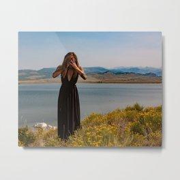 Gateway to the Mystic Mountains Metal Print