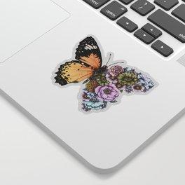 Butterfly in Bloom II Sticker