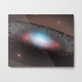 879. An Unwelcome Place for New Stars artist concept Metal Print