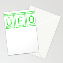 UFO Roswell element conspiracy theory gifts Stationery Cards