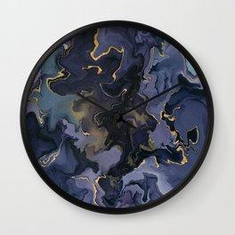 Calm storm Wall Clock
