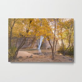 Lower Calf Creek Falls Metal Print