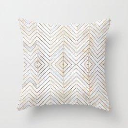 Royalty || #pattern #minimal Throw Pillow