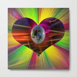 Flowermagic - Gift idea Metal Print