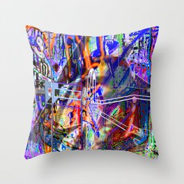 Disrupt All Reductionist Activity In Sector Seven-G! Throw Pillow