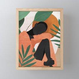 Tropical Girl 10 Framed Mini Art Print