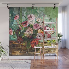 Tin Can Studio Floral 2 Wall Mural