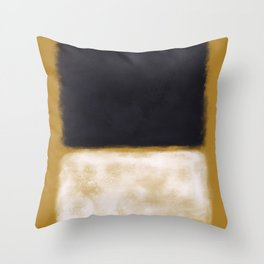 Rothko Inspired #10 Throw Pillow