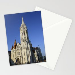 budapest matthias church Stationery Cards