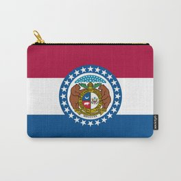 Missouri Flag Carry-All Pouch