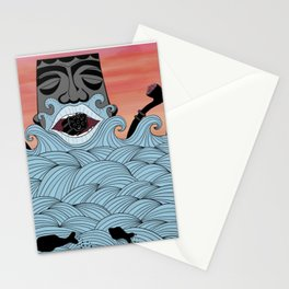 Licorice sea Stationery Cards