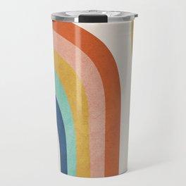 The Sun and a Rainbow Travel Mug