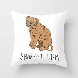 Shar-pei Diem Throw Pillow