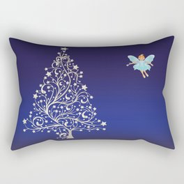 Sugarplum Fairy on Christmas Eve. Rectangular Pillow