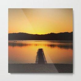 """sylvan shore sunset 2"" Metal Print"