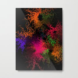 Colorful abstract Metal Print