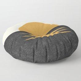 Sunset Geometric Midcentury style Floor Pillow