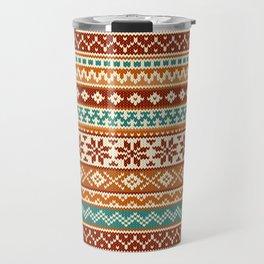 Fair Isle Senor Zorro Travel Mug