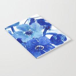 blue stillife Notebook