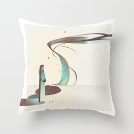 Lady of Mercy Throw Pillow