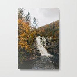 Bald River Falls, Cherokee National Forest (1/3) Metal Print