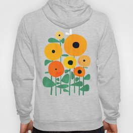 Sunflower and Bee Hoodie