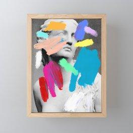 Composition 721 Framed Mini Art Print