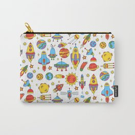 Outer space cosmos pattern Carry-All Pouch