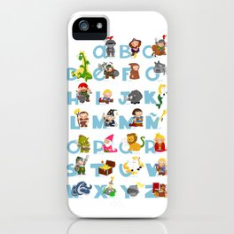 ABC  medieval (spanish) iPhone Case