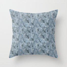 Light Blue Celestite Close-Up Crystal Throw Pillow