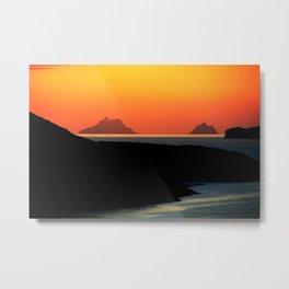 Skellig Islands Metal Print