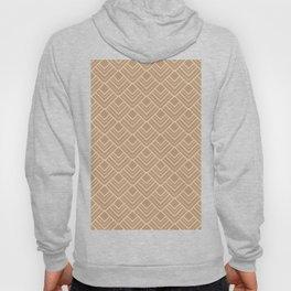 Paris Elegance - Cream Beige Geometry Hoody