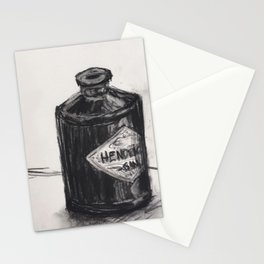 Gin and Charcoal Stationery Cards