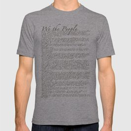 United States Bill of Rights (US Constitution) T-shirt