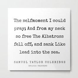 66    | Samuel Taylor Coleridge Poems | 200207 Metal Print