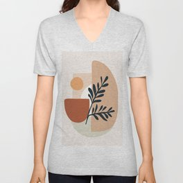 Geometric Shapes Unisex V-Neck