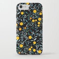 Oranges Black iPhone 7 Tough Case