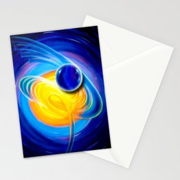 Abstract perfection - Circle Stationery Cards
