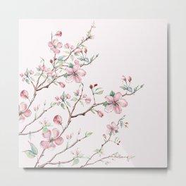 Apple Blossom Pink #society6 #buyart Metal Print