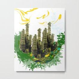 kaktusar Metal Print