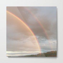 Double Rainbow Enchantment Metal Print