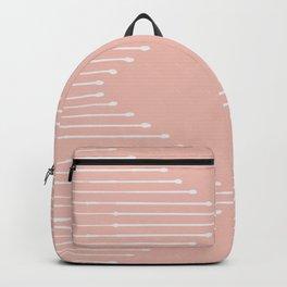 Geo / Blush Backpack